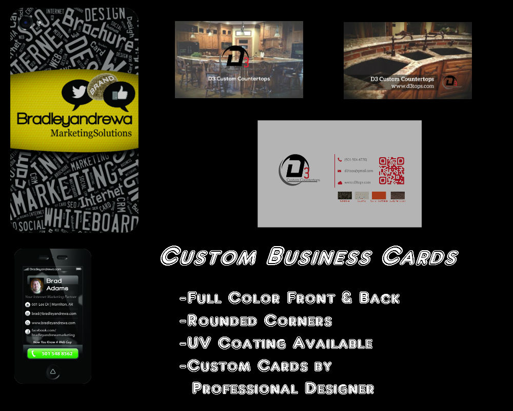 Business Cards - Bradleyandrewa